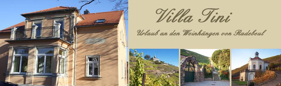 Villa Tini - Ihre Ferienwohnung in Radebeul